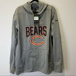 Nike Men's NFL Chicago Bears Therma Hoodie Size M